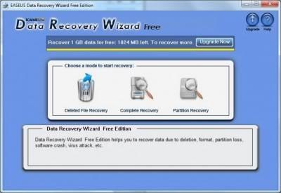 Data Recovery Wizard - recuperar archivos eliminados
