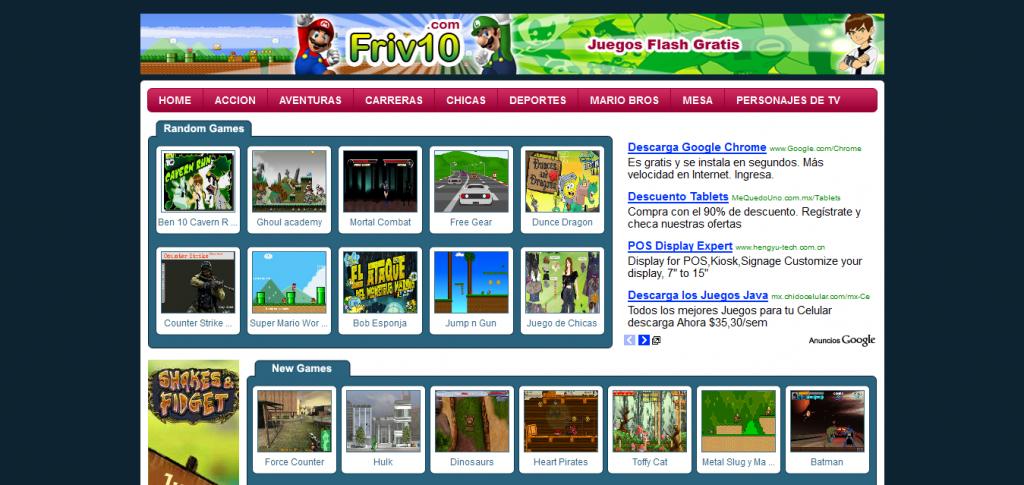 juegos friv 1000 games play online walkthrough