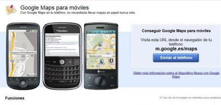 Google Maps para celular