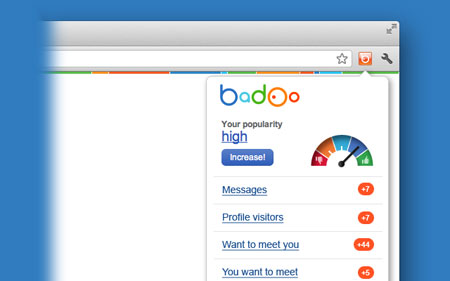 Badoo Chrome