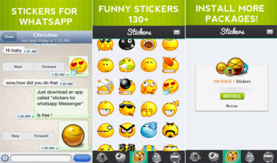 Stickers For WhatsApp Messenger