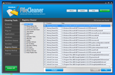 FileCleaner