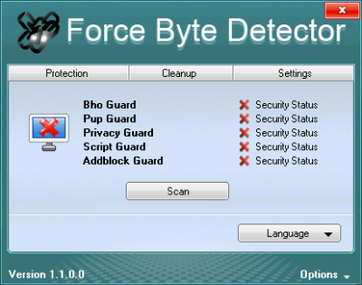 Force Byte Detector