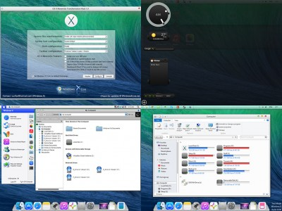 OS X Mavericks Transformation