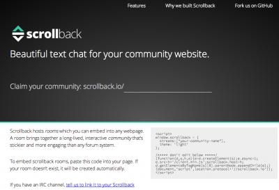 Scrollback