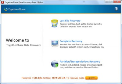 TogetherShare Data Recovery