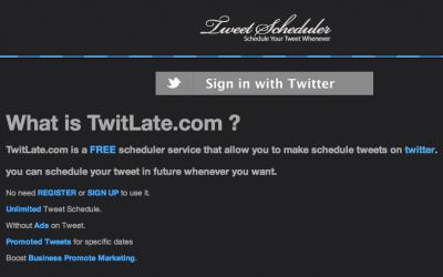 Twitlate