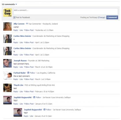 Facebook Comment Master