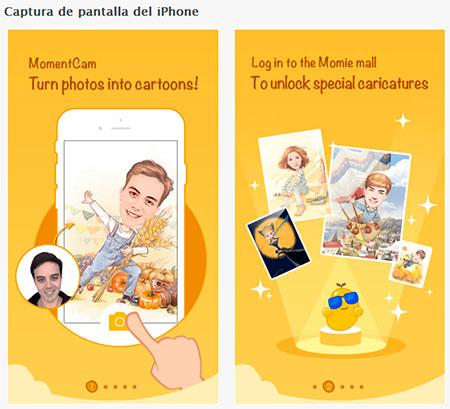 MomentCam iOS