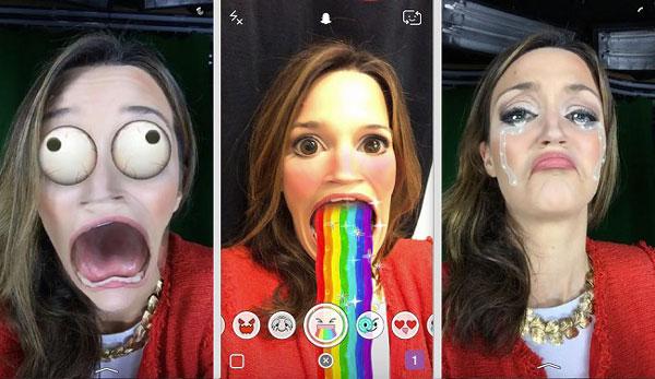 Poner filtros de Snapchat